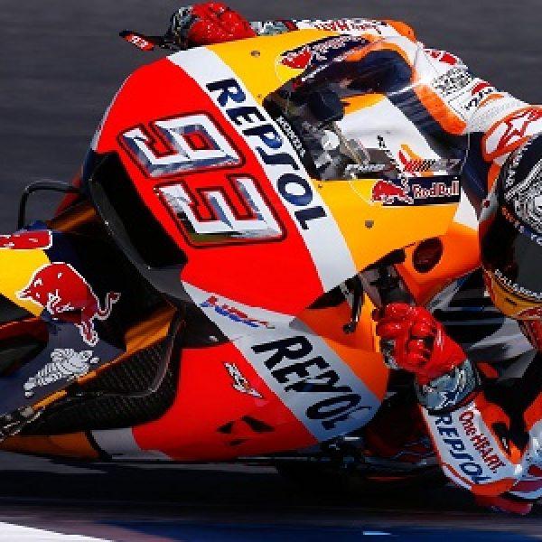 Moto GP, Marquez in pole ad Austin. Iannone 3°, Rossi e Dovi più staccati