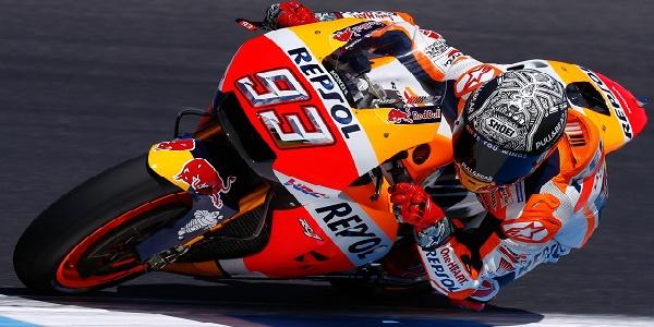 Motogp, libere Barcellona: Marquez è il più veloce. Rossi chiude decimo