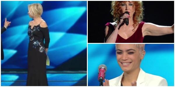 Sanremo 2017, i look dell'ultima serata: la Comello non ne azzecca una, Paola Turci super sexy – FT
