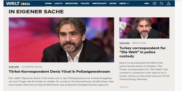 Turchia, fermato il corrispondente del 'Die Welt'
