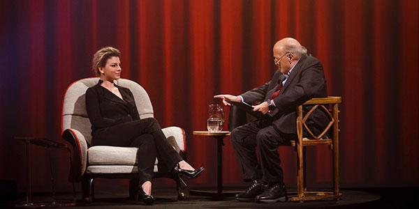 """Emma Marrone si racconta a Maurizio Costanzo nella nuova puntata de """"L'intervista"""""""