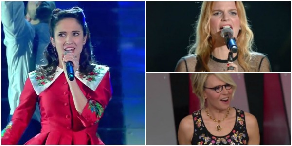 Sanremo 2017, i look della terza serata: Paola Turci sexy, De Filippi romantica – FOTO