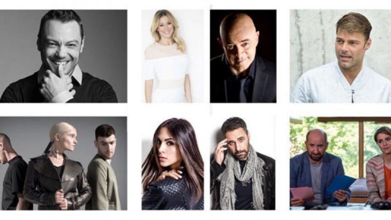 Sanremo 2017, gli ospiti della prima serata
