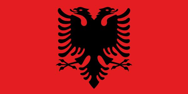 """Il testo dell'inno dell'Albania, """"Hymni i Flamurit"""""""