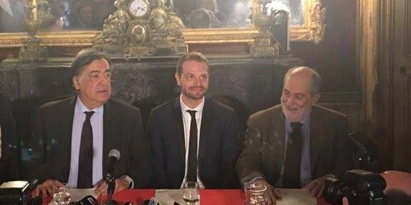 Palermo, il sindaco Orlando riceve Paul Baccaglini: