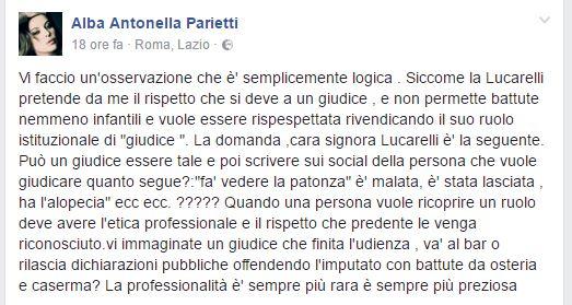 Alba Parietti vs. Selvaggia Lucarelli: 'È disonesta intellettualmente'