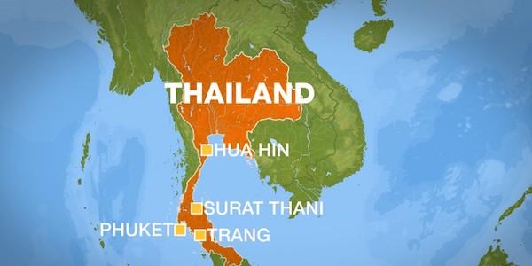 Thailandia, italiano dilaniato e dato alle fiamme
