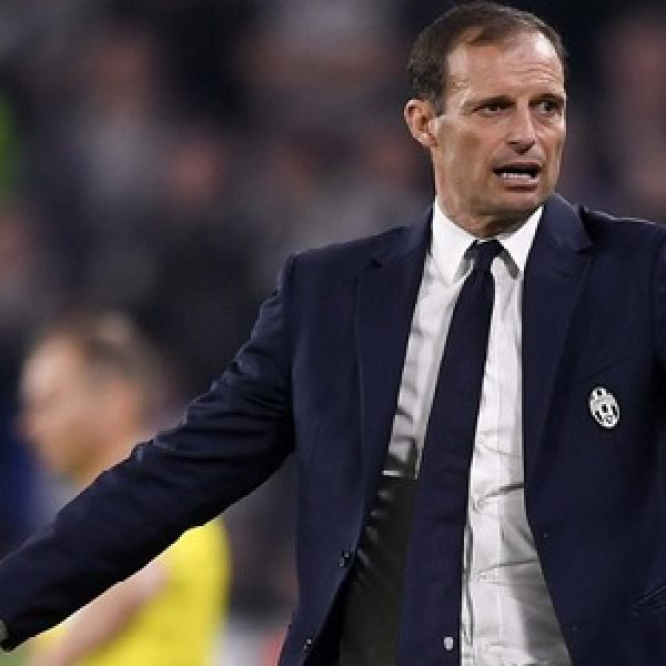 Juventus eliminata, il tweet di Allegri: