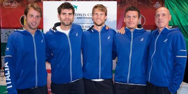 Coppa Davis, Lorenzi sconfitto Belgio in vantaggio sull'Italia 1-0