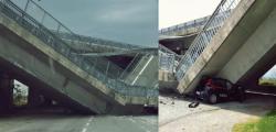 cavalcavia carabinieri fossano, crollo cavalcavia Fossano, crollo viadotto fossano, crollo viadotto tangenziale cuneo, Fossano cavalcavia