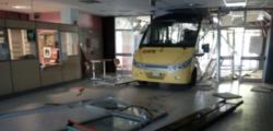 Alberto Bellelli, bus scuola carpi, incidente Carpi, schianto meucci carpi, vandalismo meucci carpi