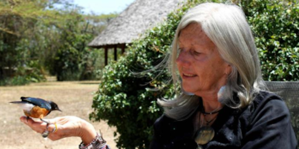 Ferita nel suo ranch in Kenia Kuki Gallmann