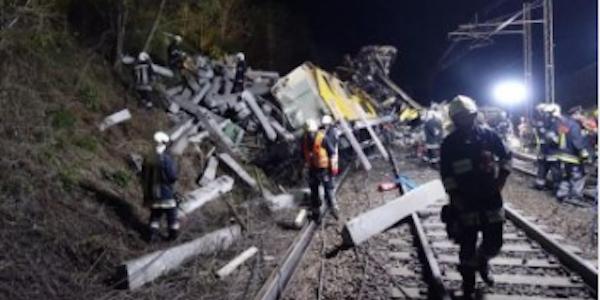 Tragedia sulla ferrovia Bolzano – Brennero   Due operai muoiono sul colpo, tre i feriti