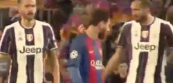 Video Bonucci Messi Chiellini