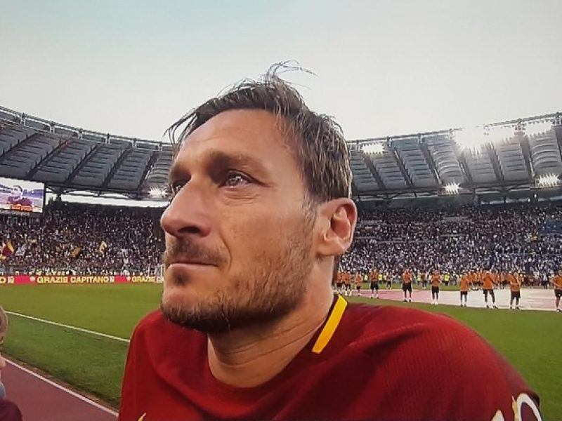 Totti scrive a Buffon:
