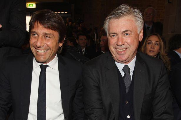 Conte e Ancelotti: l'emblema dell'Italia che vince