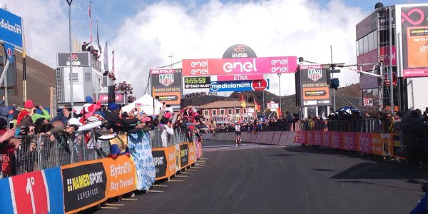 Giro 2017: Jan Polanc 179 km di sostanza