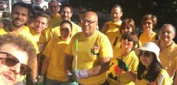 #magliettegialle, Anac Cantone, pd ripulisce roma, rifiuti roma pd, roma rifiuti, spazzatura roma, volontari pd roma