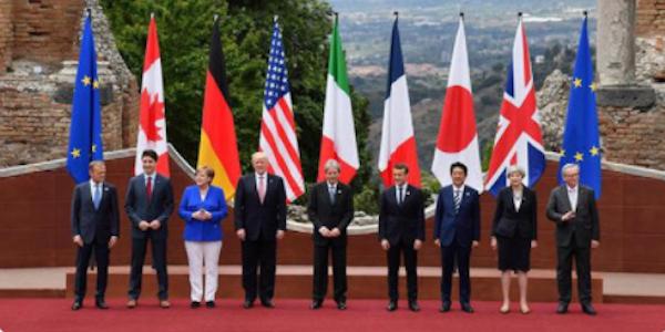 taormina, g7 la difficile intesa tra i grandi del mondo