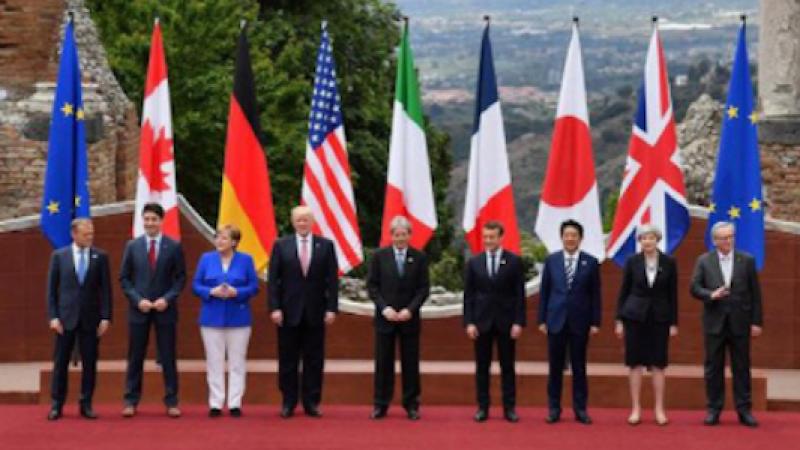 G7, sorrisi di facciata ma vola qualche straccio | Difficile intesa sui grandi temi internazionali