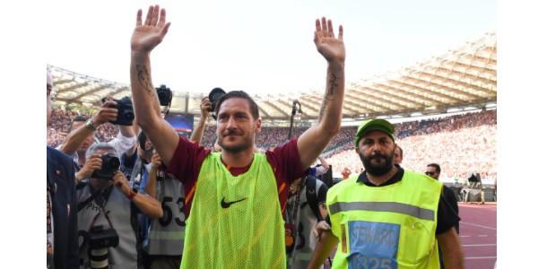 Totti ultima partita 28 maggio 2017