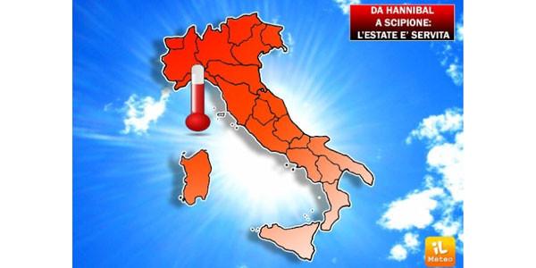 Meteo, estate al via sole e caldo africano in tutta Italia