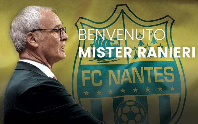 Nantes, ufficiale: Claudio Ranieri è il nuovo allenatore / FOTO