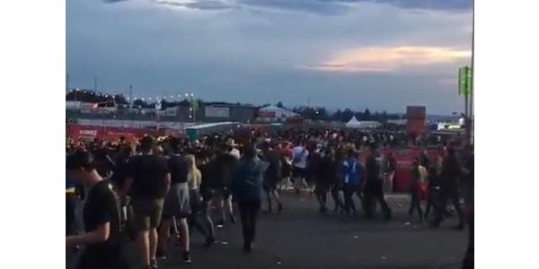 Niente Rock am Ring, festival fermato per minaccia terroristica