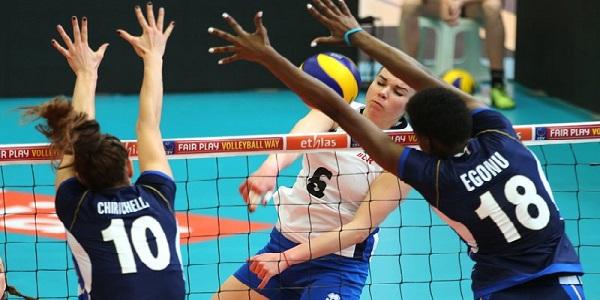 L'Italvolley al femminile va ai Mondiali. Battuto il Belgio