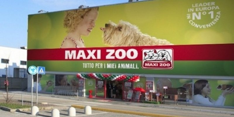 La catena Maxi Zoo conquista l'Italia. Si cercano oltre mille addetti vendita