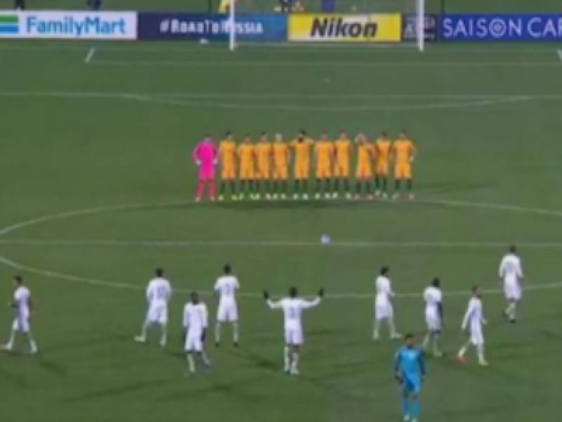 arabia saudita, australia arabia saudita, calcio arabia saudita, minuto di silenzio londra, minuto silenzio arabia, polemiche minuto silenzio