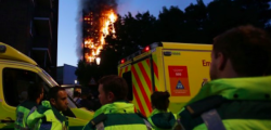 Grenfell Tower, incendio Londra