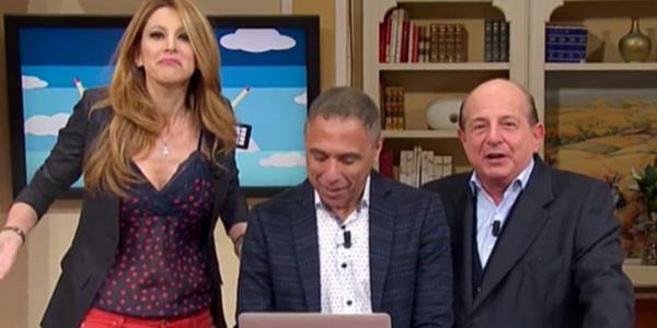 Adriana Volpe ancora contro Giancarlo Magalli: