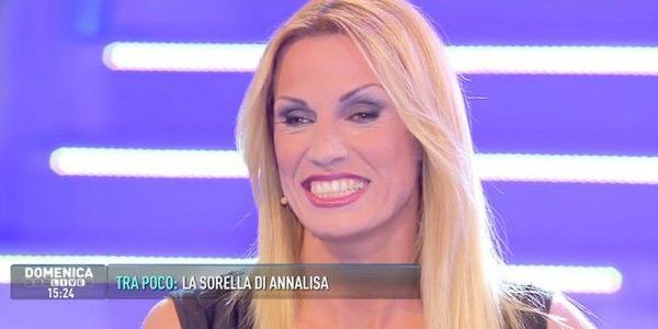 Annalisa Minetti ha partorito, è nata Elena
