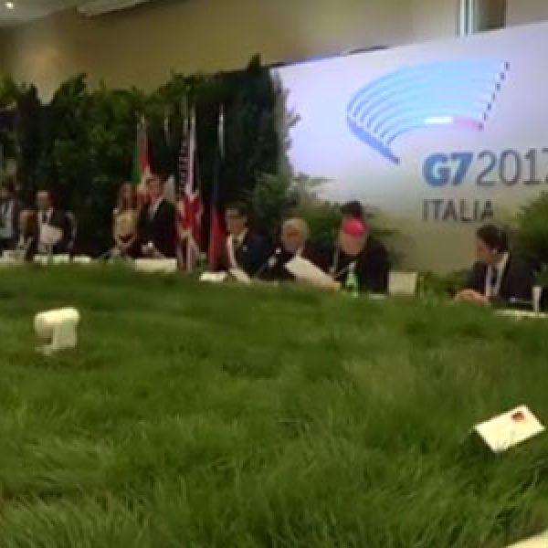 G7 Ambiente a Bologna, parla Galletti |