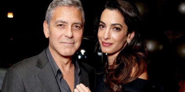 George e Amal Clooney genitori: sono nati i gemelli