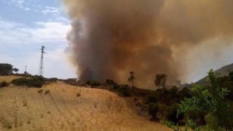 Sardegna, maxi incendio alle porte di Iglesias | Diverse abitazioni sono già state evacuate