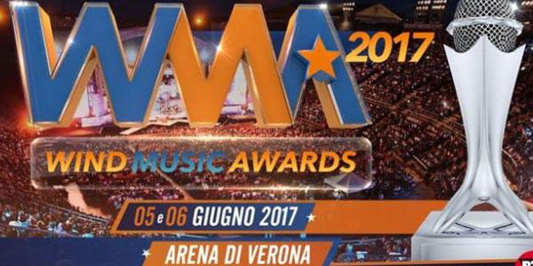 Wind Music Awards 2017: ecco tutti i premiati