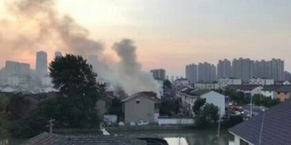 Cina, incendio Changshu, incendio Cina, incendio edificio residenziale cina, morti Changshu, morti incendio Changshu