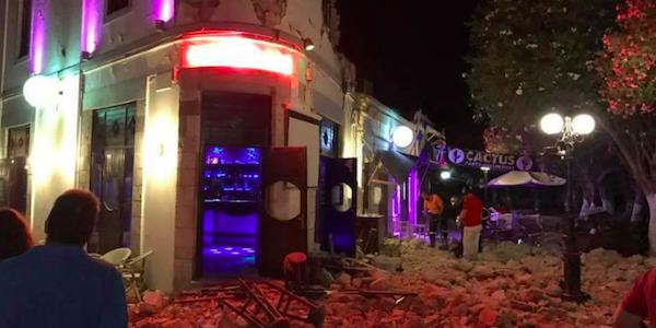 Violento terremoto a Kos, ci sono morti e feriti | Danneggiati diversi edifici del centro storico