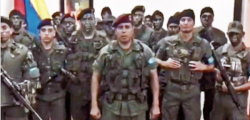 golpe venezuela, maduro contro golpe, rivolta esercito venezuela, rivolte maduro, tentativo golpe venezuela