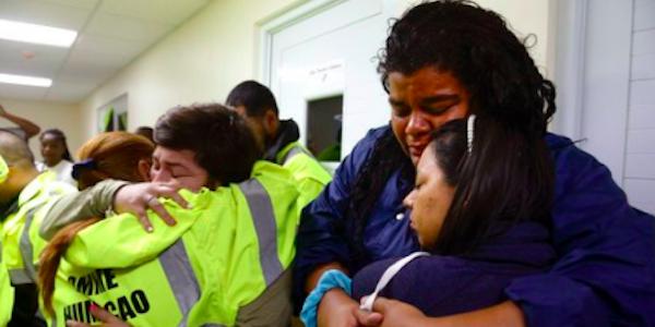 Porto Rico devastata dall'uragano Maria