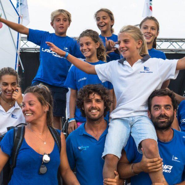 Vela, campionato italiano: podio per i giovani Giangrande e Costantino a Crotone