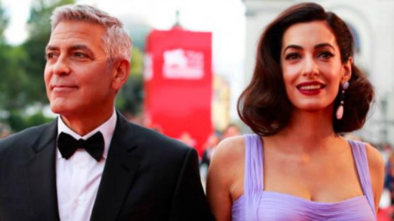 Mostra del Cinema di Venezia, bagno di folla per George Clooney e Amal – FT