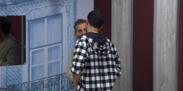 Aida Yespica piange al Grande Fratello Vip: lite con Jeremias Rodriguez