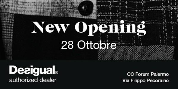 Il nuovo Desigual Store apre al centro commerciale Forum
