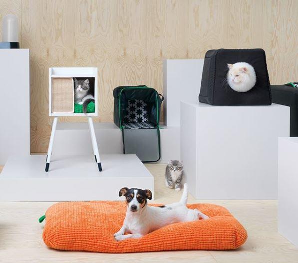 Lurvig la collezione ikea per cani e gatti si24 for Tiragraffi per gatti ikea