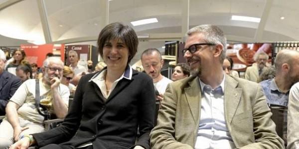 Chiara Appendino e Paolo Giordana