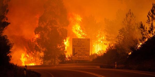Ophelia, 39 morti in Galizia per gli incendi |È emergenza in Portogallo e in Spagna