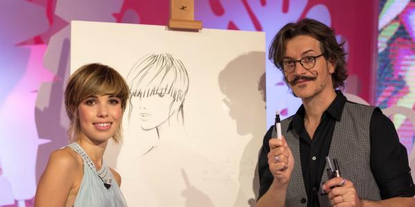 Salvo Filetti, l'hair designer che trasforma le donne in star: i suoi consigli di bellezza a Sì24 – FOTO